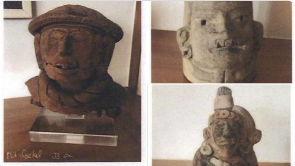 México recupera piezas arqueológicas que se encontraban en Alemania - México recupera piezas arqueológicas que se encontraban en Alemania