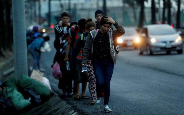 Al menos 400 migrantes hondureños de la caravana han regresado a su país - Foto de EFE