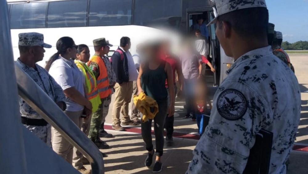 Guatemala y México han deportado a más de 750 migrantes de caravana - Foto de @INAMI_mx