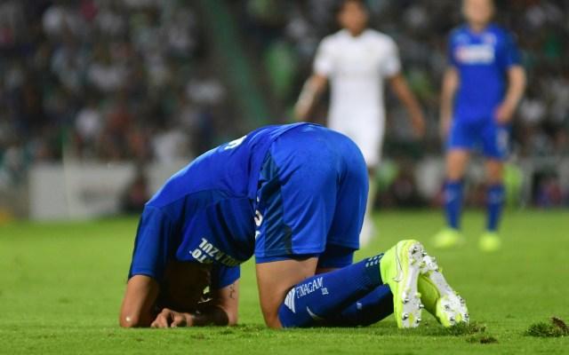 Cruz Azul confirma fractura de Milton Caraglio - Milton Caraglio durante el Apertura 2019. Foto de Mexsport.