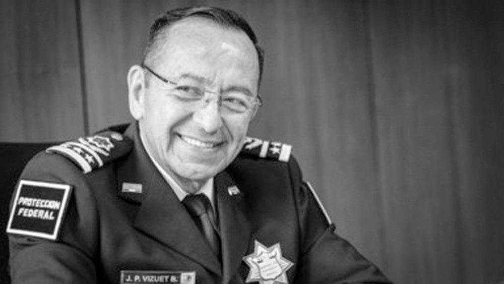 Murió el comisionado del Servicio de Protección Federal, José Pedro Vizuet - Murió el comisionado del Servicio de Protección Federal, José Pedro Vizuet