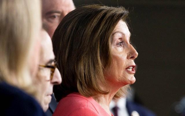 Nancy Pelosi firma cargos de 'impeachment' contra Trump - Nancy Pelosi Estados Unidos Cámara de Representantes 15022020