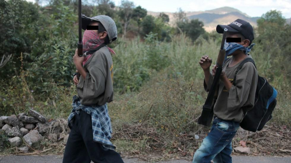"""AMLO afirma que su gobierno evitará que delincuencia reclute a menores como """"ejército de reservas"""" - Foto de EFE"""