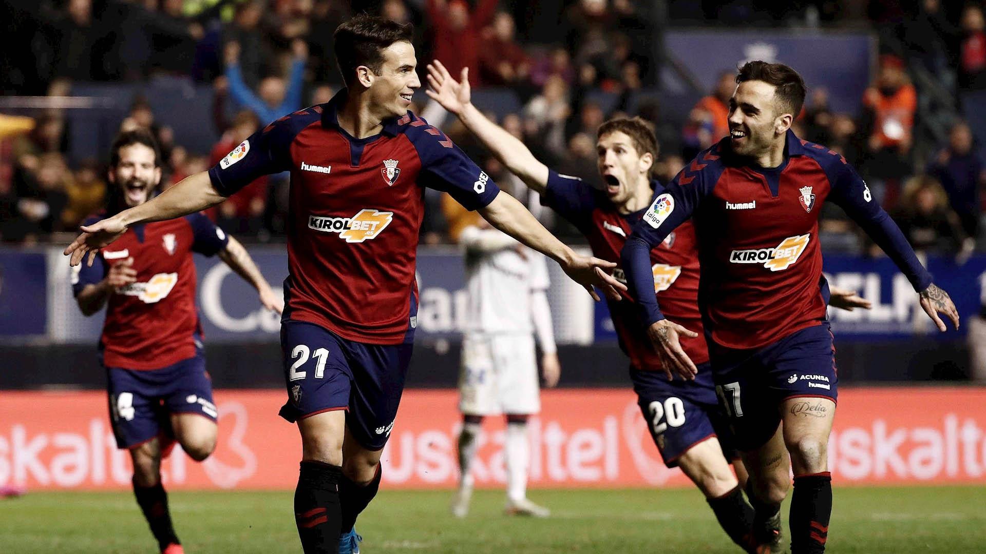 Osasuna Levante partido España futbol