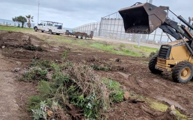 Patrulla Fronteriza destruye Jardín Binacional en San Diego - Patrulla Fronteriza destruye Jardín Binacional en San Diego