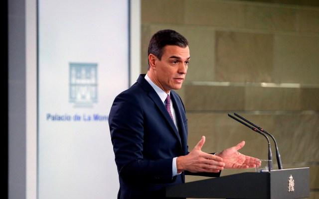 Pedro Sánchez anuncia primeros cambios en España como presidente - Pedro Sánchez. Foto de EFE