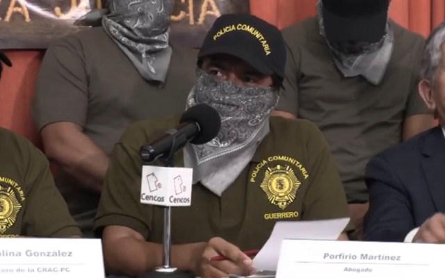 Policía comunitaria de Guerrero denuncia hostigamiento - Policía comunitaria de Guerrero denuncia hostigamiento