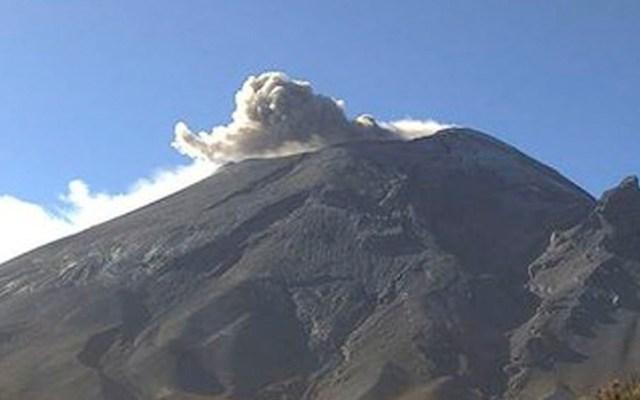 Popocatépetl emite 106 exhalaciones en 24 horas - Popocatépetl emite 106 exhalaciones en 24 horas