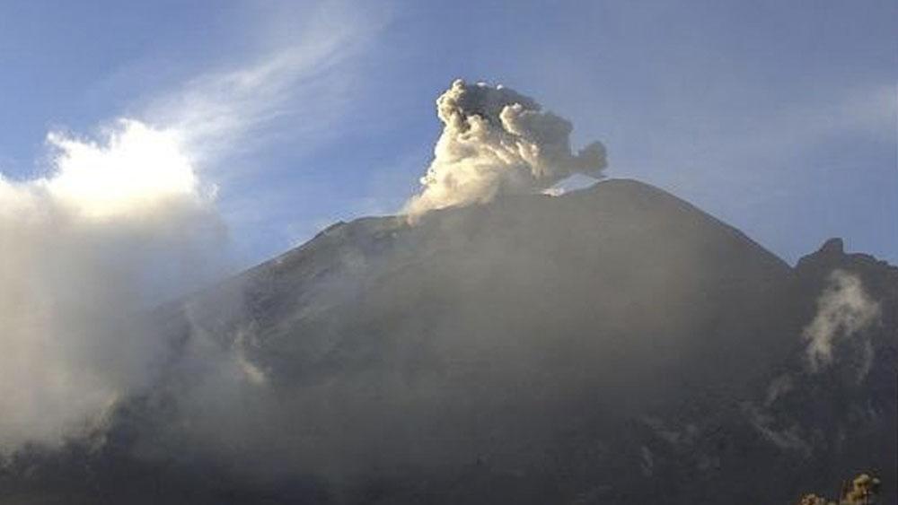 Popocatépetl emite 179 exhalaciones en 24 horas - Popocatépetl emite 179 exhalaciones en 24 horas