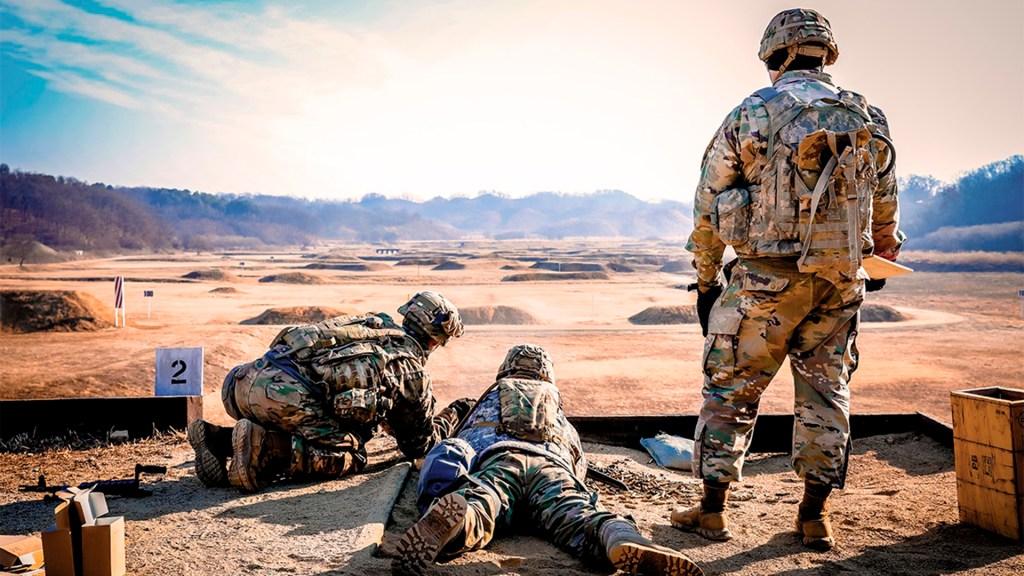 Pese a tensión, Irán y Estados Unidos no quieren ir a la guerra - Práctica de tropas estadounidenses. Foto de Sgt. Alon Humphrey / US Army
