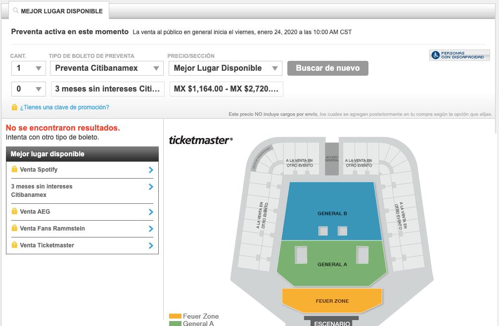 Rammstein anuncia nueva fecha en México; boletos hasta en 53,000 en reventa