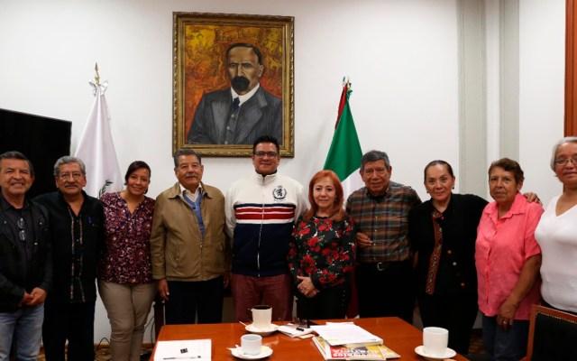 CNDH apoyará a padres de estudiantes mexicanos asesinados en Ecuador en 2008 - Reunión entre la presidenta de la CNDH y padres de los 4 estudiantes asesinados en Ecuador. Foto de @CNDH