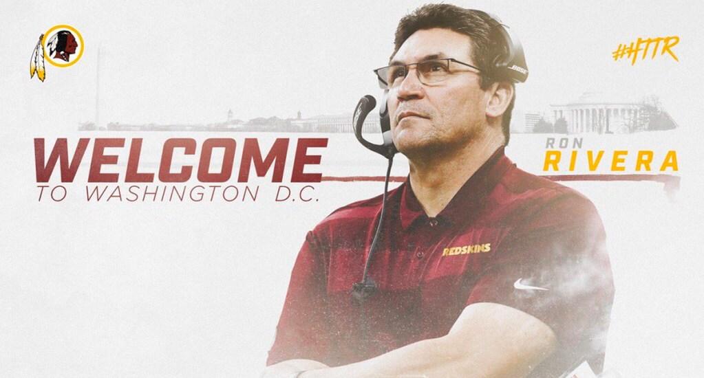 Ron Rivera emocionado de ser head coach de Redskins