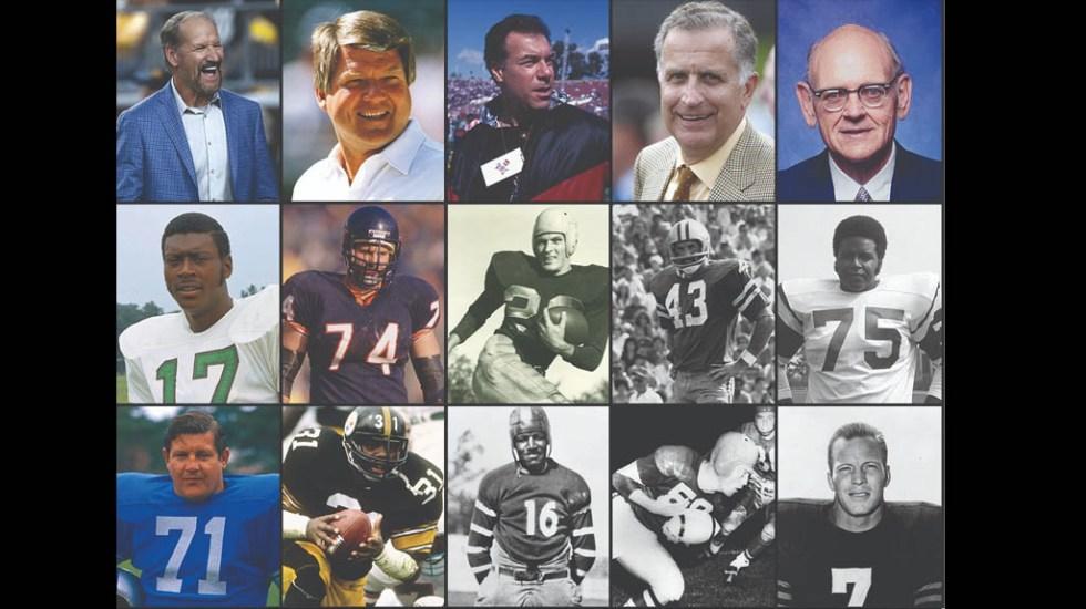 NFL presenta a los 15 nuevos miembros del Salón de la Fama - Salón de la Fama 2020 NFL