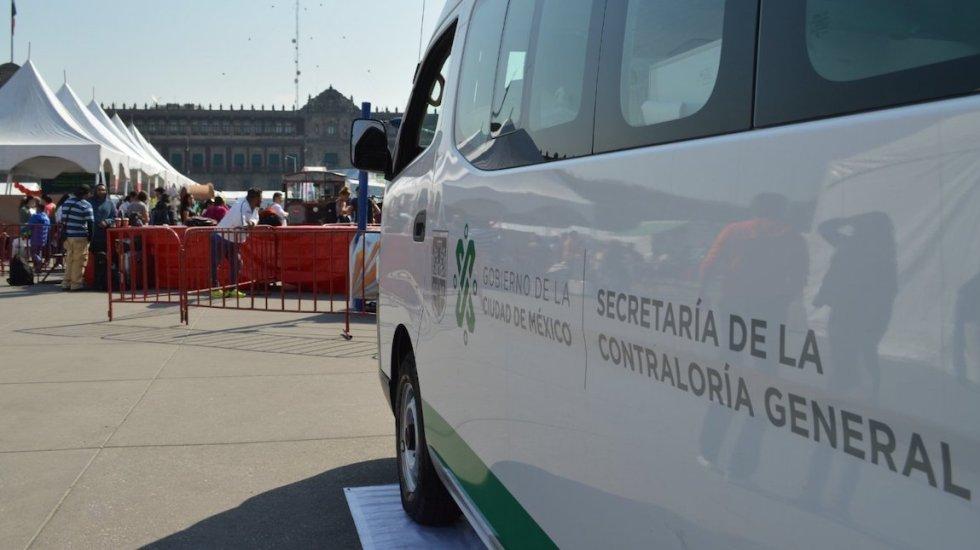 Contraloría investiga a exfuncionarios del gobierno de Mancera por desvío de recursos públicos - Unidades de la Secretaría de la Contraloría de la Ciudad de México. Foto de @ContraloriaCDMX