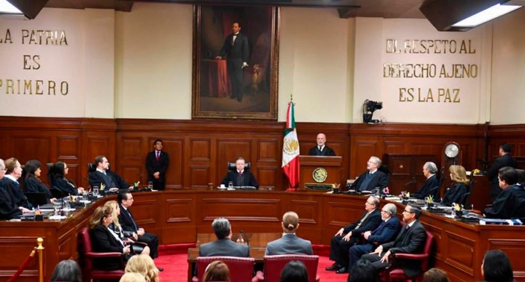 SCJN ordena devolver fuero a jueces estatales en Michoacán - Diputados aprobaron en lo general la llamada 'Ley Zaldívar'. Foto de Archivo.