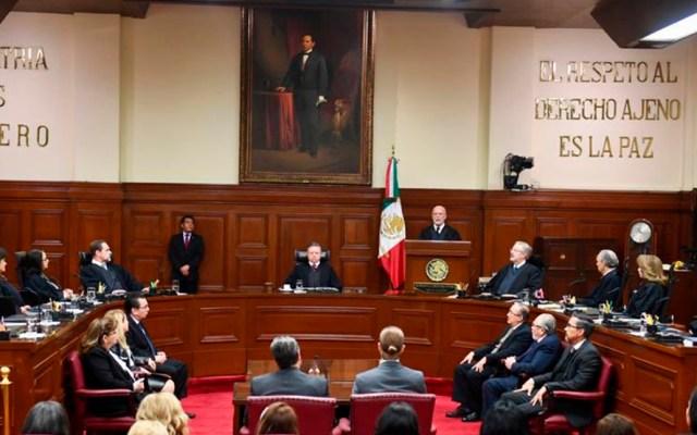 SCJN invalida el Sistema Anticorrupción de la CDMX por irregularidades - Sesión de la SCJN. Foto de @SCJN