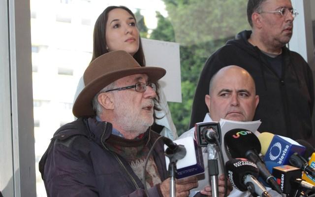 Gobernación garantiza seguridad en marcha de Javier Sicilia - Javier Sicilia y Julián LeBarón. Foto de Notimex