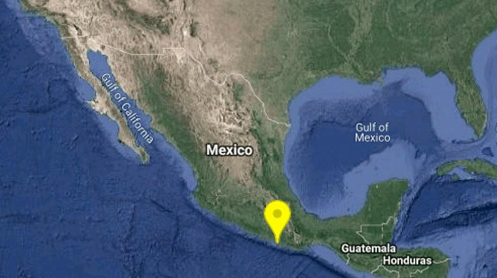 Sismo de magnitud 5.1 sacude Oaxaca; se percibe en la Ciudad de México - Sismo de magnitud 5.1 sacude Oaxaca