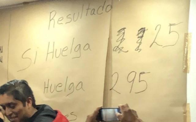 SITUAM acepta aumento salarial de 3.4 por ciento y no se va a huelga - Foto de @SITUAMilitancia