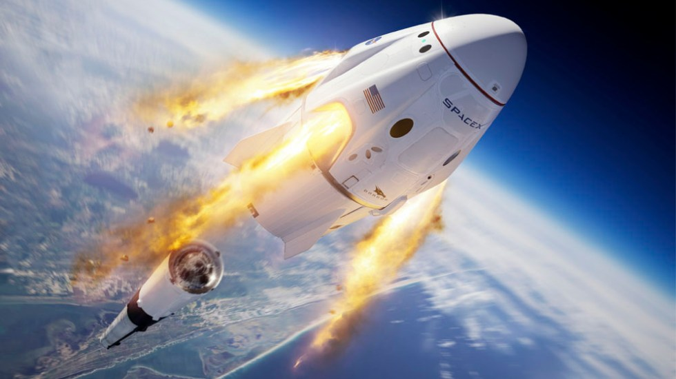 NASA y SpaceX preparan tercera misión comercial tripulada - SpaceX pospone prueba final de supervivencia de cápsula Crew Dragon