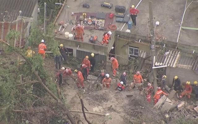 Suman 14 muertos por lluvias en el sureste de Brasil - Suman 14 muertos por lluvias en el sureste de Brasil