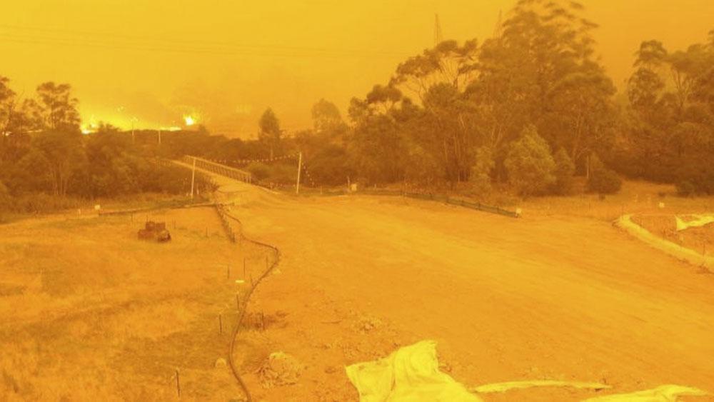 Ciudad de Australia registra temperatura de 69.8 grados durante tormenta de fuego - Ciudad de Australia registra temperatura de 69.8 grados durante tormenta de fuego