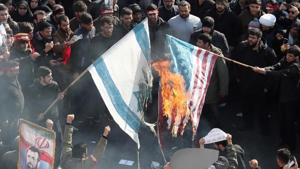 'Presión extrema' de EE.UU. a Irán recrudeció la tensión, opina China - Tensión entre EE.UU. e Irán. Foto de EFE