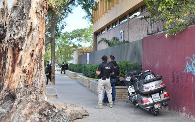 SEP pide que padres de familia revisen mochilas tras tiroteo en Torreón - Aspecto del Colegio Cervantes, Campus Bosque, en Torreón, Coahuila. Foto de Notimex.