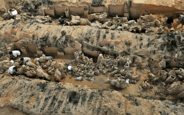 Descubren 200 Guerreros de terracota en China - Foto de @cgtnenespanol
