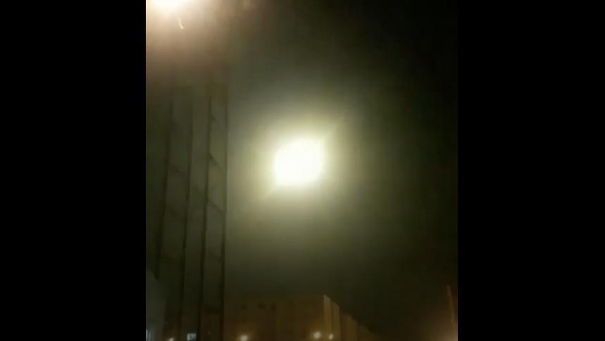 Revela video impacto de misil a un avión en Teherán - Foto de The New York Times