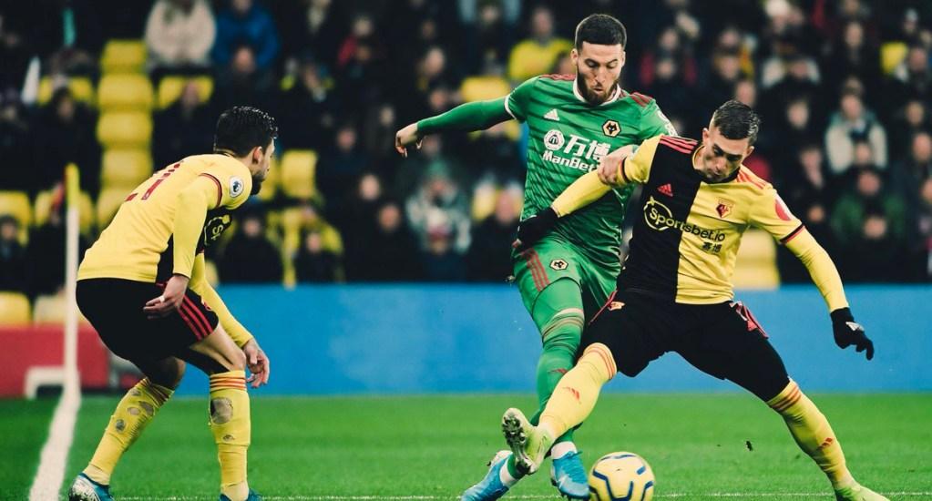 Wolverhampton con Raúl Jiménez cae ante el Watford