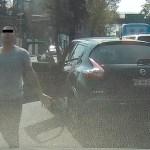 #Video Captan nueva agresión de automovilista en la Ciudad de México