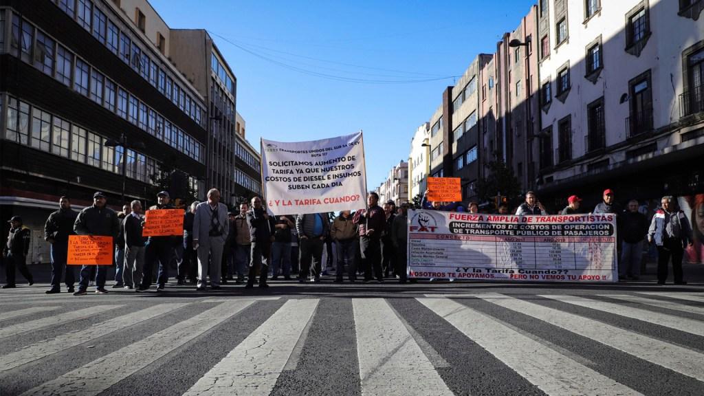 Prevén siete movilizaciones este lunes en la Ciudad de México - movilizaciones en la Ciudad de México