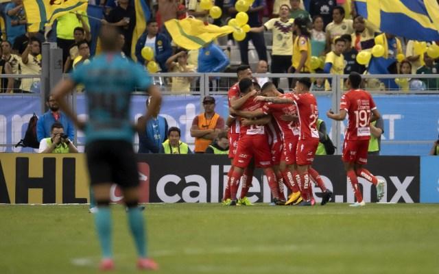 América pierde vuelo al caer 0-3 con Necaxa - Foto de Mexsport