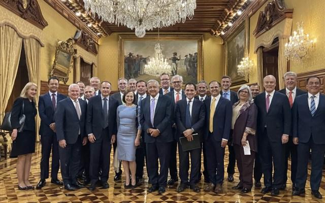López Obrador sostiene reunión con presidenta de AS/COA y directivos de empresas - Andrés Manuel López Obrador México Susan Segal empresarios
