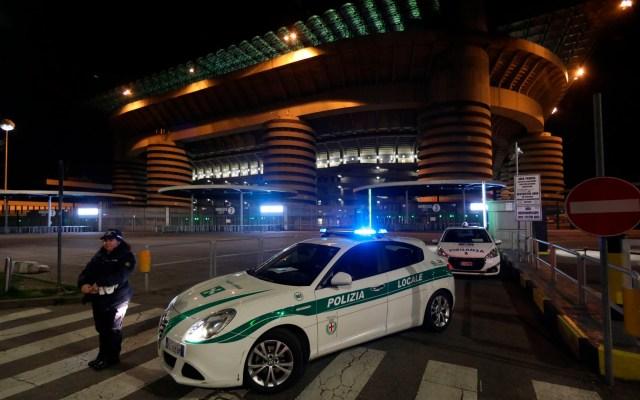 Aplazan Juventus vs Inter y otros cuatro partidos en Italia por COVID-19 - Aplazan Juventus vs Inter y otros cuatro partidos más en Italia por COVID-19
