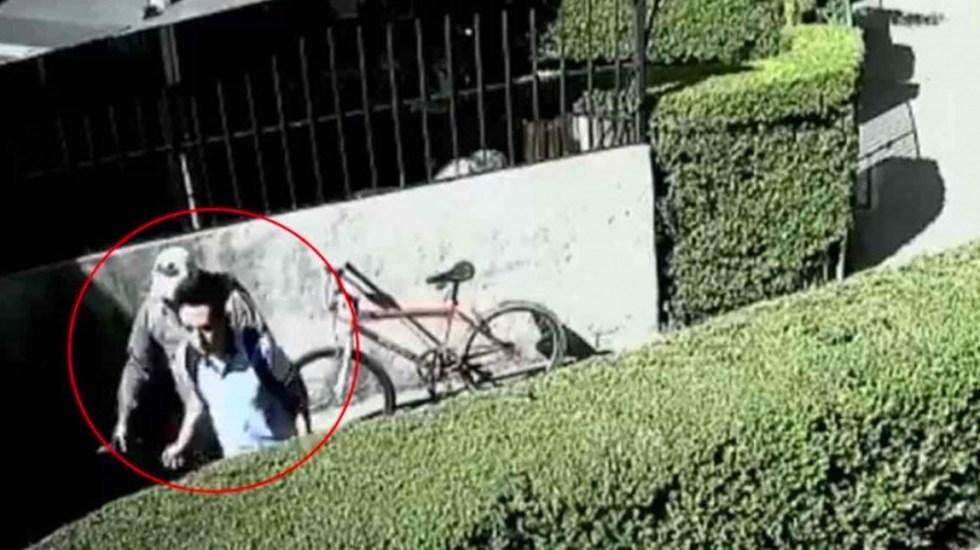 #Video Exreo asalta en segundos a estudiante de secundaria en Coyoacán - Exreo asalta en segundos a estudiante de secundaria en Coyoacán