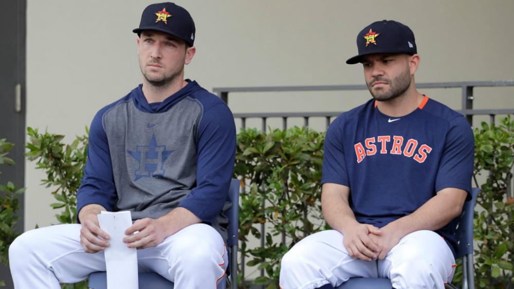 Astros de Houston se disculpan por robo de señales en 2017 - Foto de Houston Astros
