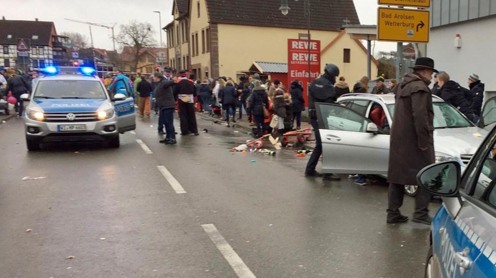 Resultado de imagen para Al menos quince heridos por un atropello masivo en un carnaval en Alemania