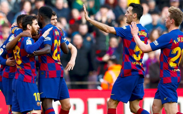 Barcelona vence al Getafe con goles de Griezmann y Sergi Roberto - Barcelona vence al Getafe con goles de Griezmann y Sergi Roberto