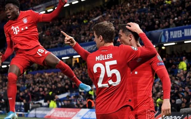 Bayern golea al Chelsea y lo deja al borde de la eliminación de Champions - Bayern Munich goleada