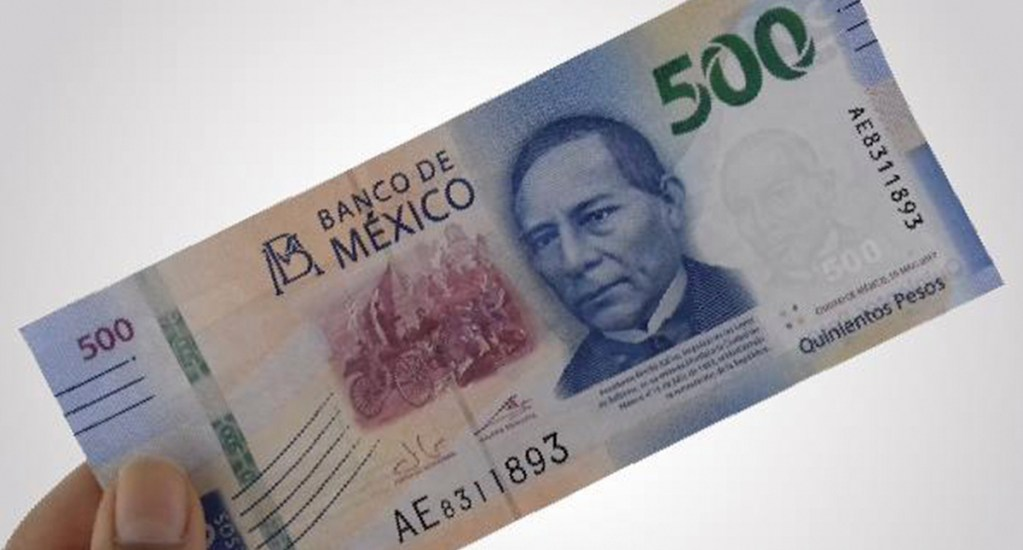 Gobierno de México pide a funcionarios aportaciones voluntarias - México Billete de 500 pesos, dinero, economía