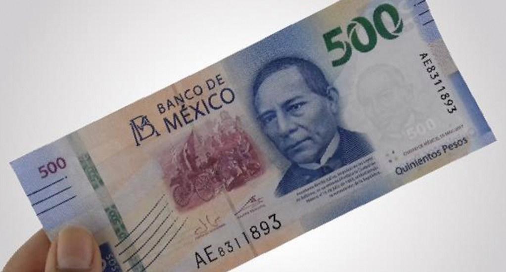 Billete de 500 pesos, dinero, economía