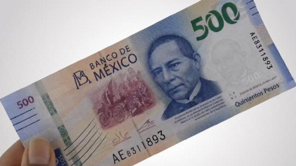 Subejercicio en gasto público aumenta a 364 mil mdp hasta octubre - Billete de 500 pesos, dinero, economía