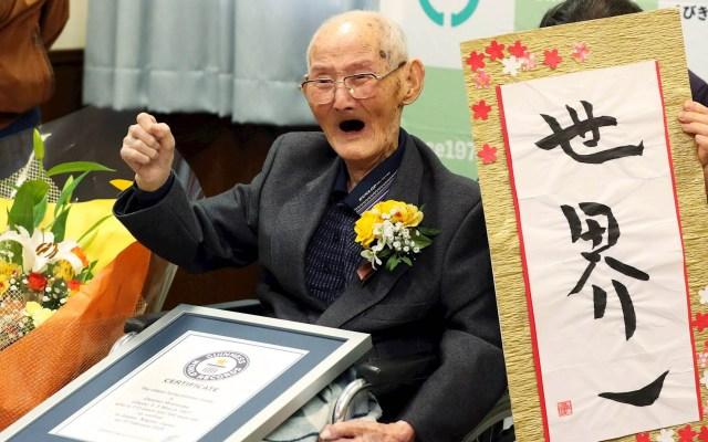 Chitetsu Watanabe, reconocido como el hombre más longevo del mundo - Chitetsu Watanabe japón longevo