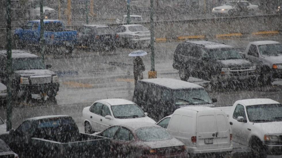 Activan Alerta Naranja por nevadas en Ciudad Juárez - Ciudad Juárez nevadas México