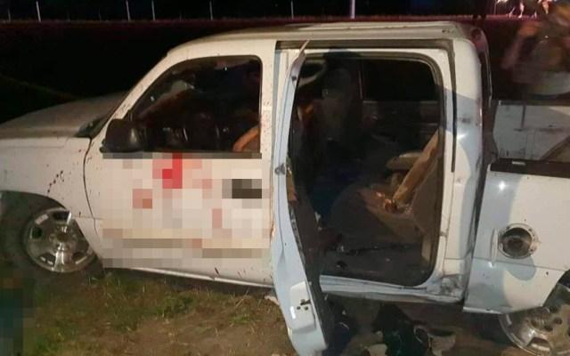 Sedena abate en Tamaulipas a seis civiles armados - Civiles armados abatidos en enfrentamiento con la Sedena en Tamaulipas. Foto de @vigilantehuaste