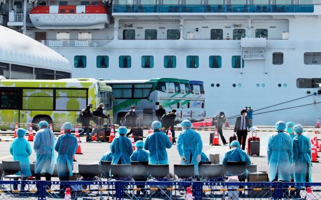 Revisión de pasajeros del crucero Diamond Princess en Japón por Covid-19 - crucero japón
