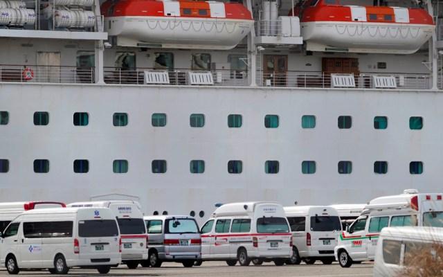 Detectan tres nuevos casos de coronavirus en crucero en Japón; suman 64 pasajeros infectados - Detectan tres nuevos casos de coronavirus en crucero en Japón; suman 64 pasajeros infectados